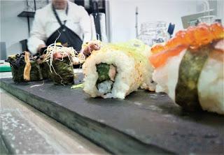 Taller Sushi Fusión de Alimentos de la Tierra (viernes, 4)