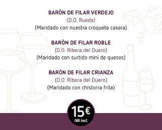 Cata de vinos divertidos (viernes, 13)