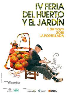 LA PORTELLADA. Feria del Huerto y del Jardín (martes, 1)