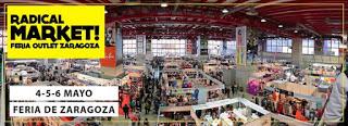 Radical Market, Feria outlet de Zaragoza (del 4 al 6)