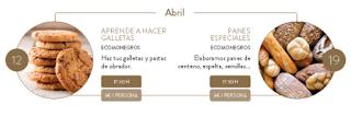 HUESCA. Taller de galletas (jueves, 12)