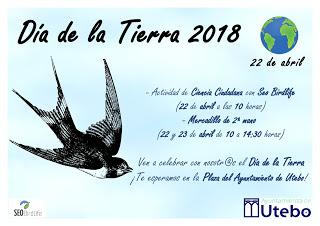 UTEBO. Día de la Tierra (domingo, 22, y lunes, 23)
