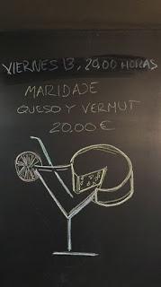 Cata de vermuts y quesos en CASTROBAR (viernes, 13 de abril)