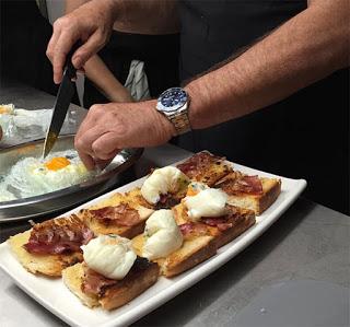 Curso de alta cocina para recibir en casa en LA ZAROLA (lunes, 9)