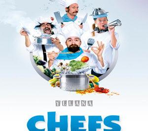 'Chefs' de producciones Yllana (del viernes, 27, al domingo, 29)
