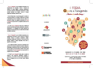 Feria Agora x l'aragones, con degustaciones (sábado, 14)