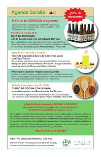 Cata de cervezas (viernes, 13)