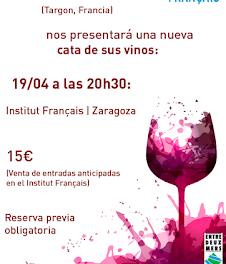 Cata de vino (jueves, 19)