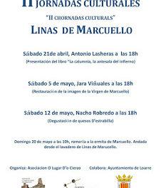 LINÁS DE MARCUELLO. II Jornadas Culturales (sábado, 12)