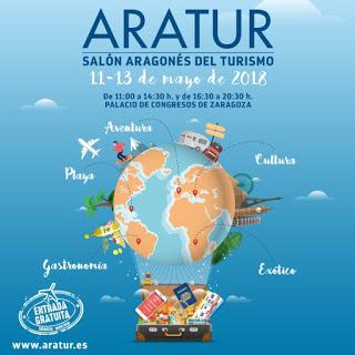 Salón Aragonés del Turismo ARATUR 2018 (del 11 al 13)