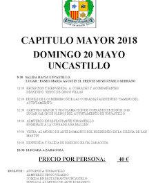UNCASTILLO. Capítulo de la Cofradía de la borraja (domingo, 20)