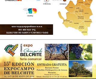 LÉCERA. Feria Comarcal Expocampo de Belchite (del 18 al 20)