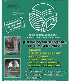 CALAMOCHA. Feria Ambientalia, con food trucks (12 y 13 de mayo)