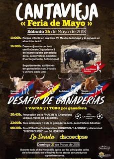 CANTAVIEJA. Feria comercial de mayo (sábado, 26)
