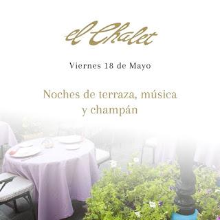Noches de terraza, música y champán (viernes, 18)