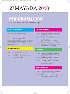 Fiesta 27mayada (domingo, 27)