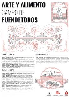 FUENDETODOS. Simposio Arte y alimento (del 18 al 20 de mayo)