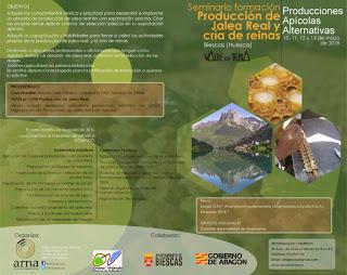 BIESCAS. Seminario sobre la producción comercial de Jalea Real (del 10 al 13)
