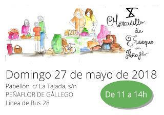 PEÑAFLOR DE GÁLLEGO. X Mercadillo del Trueque (domingo, 27)