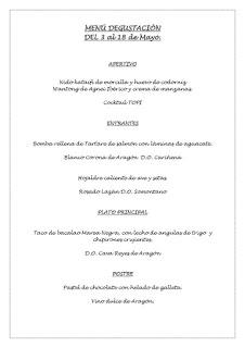 Menú degustación en TOPI (hasta el viernes, 1 de junio)