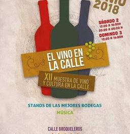 XII Muestra de vino y cultura en la calle (sábado, 2, y domingo, 3)
