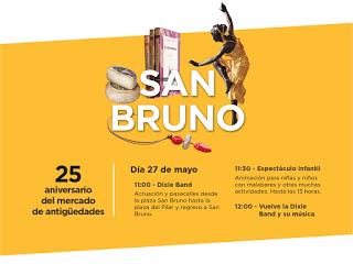 Aniversario del Mercado de san Bruno (domingo, 27)