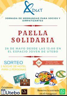 UTEBO. Paella solidaria (sábado, 26)