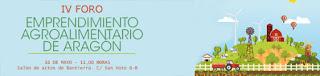 IV Foro de emprendimiento de Aragón (miércoles, 16)