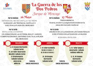 JARQUE DE MONCAYO. La guerra de los dos Pedros (sábado, 26, y domingo, 27)