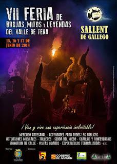 SALLENT DE GÁLLEGO. VII Feria de brujas, mitos y leyendas del Valle de Tena (del 15 al 17)