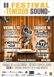 MONZÓN. Festival Tenedor Sound (del 15 al 17)