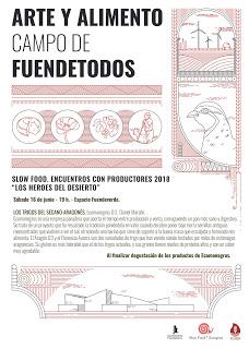 """FUENDETODOS. Encuentro de productores """"Los héroes del silencio"""" (sábado, 16)"""
