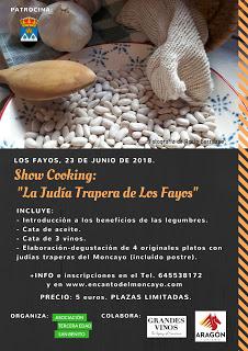 """LOS FAYOS. Show cooking """"La judía trapera de Los Fayos"""" (sábado, 23)"""
