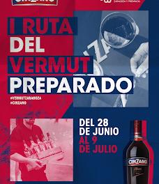 Ruta Cinzano de vermut preparado (del 28 de junio al 9 de julio)