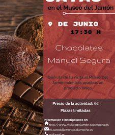 CALAMOCHA. Cata de chocolates con Manuel Segura (sábado, 9)