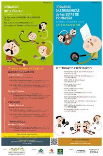 SIERRA DE ALBARRACÍN. Jornadas micológicas (días 2 y 3; 9 y 10)