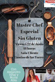 Master chef sin gluten (viernes, 22)