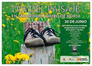 CAMPO DE BORJA. Día del paisaje (30 de junio y 1 de julio)