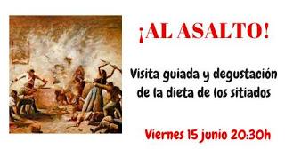 Ruta gastronómica por la Zaragoza de Los Sitios (viernes, 15)
