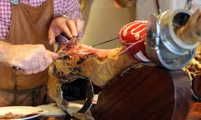 Curso de corte de jamón a cuchillo y cena (jueves, 21)