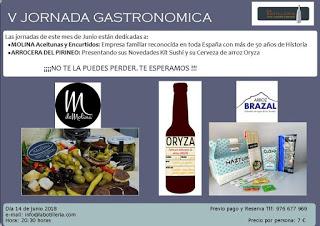 EJEA. V Jornada Gastronómica 2018 (jueves, 14)