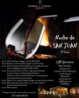 Noche de San Juan en Tierra de Cubas (sábado, 23)