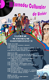 URRIÉS. Jornadas culturales con gastronomía (del 29 de junio al 1 de julio)