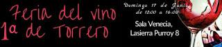 Feria del vino de Torrero (domingo, 17)