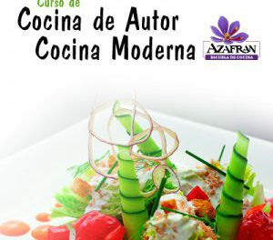 Curso de cocina de autor en AZAFRÁN (del 17 al 19)