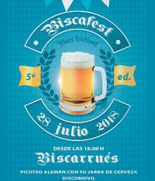 BISCARRUÉS. Fiesta de la cerveza (sábado, 28)