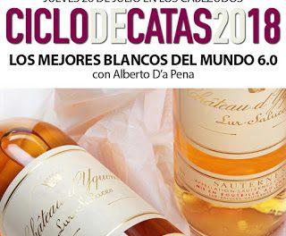 Cata maridaje en LOS CABEZUDOS. Los mejores blancos del mundo (jueves, 26)