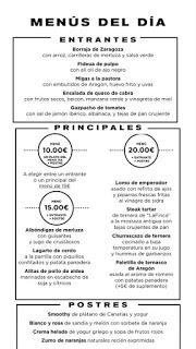 Nuevos menús a 10, 15 y 20 euros en ALBARRACÍN y +ALBARRACÍN (del 23 al 29 de julio)