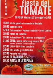 SOPEIRA. Fiesta del tomate (viernes, 17)