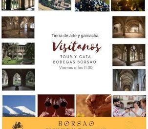 BORJA. Visitas guiadas a Bodegas Borsao (viernes de agosto)